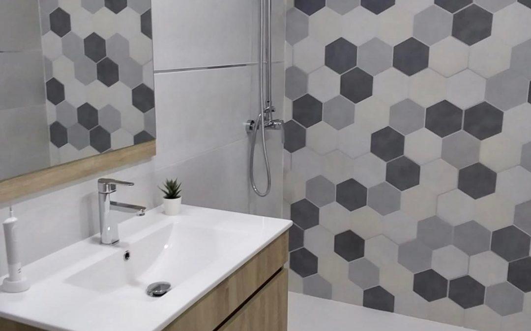 Espectacular el cambio de este cuarto de baño