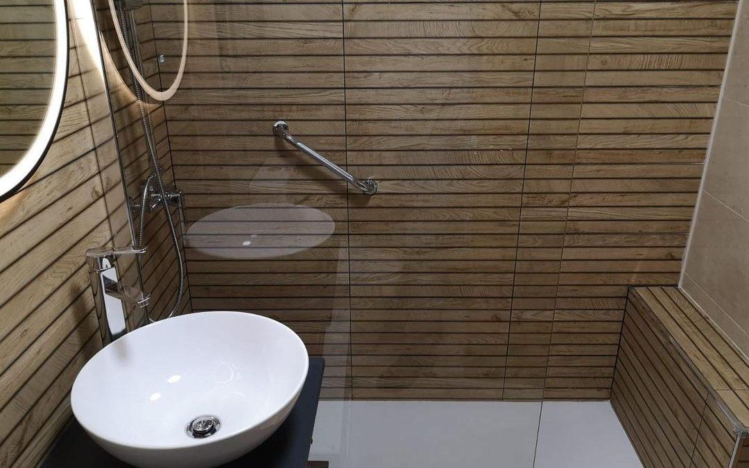 ¡Animate a crear una zona de ducha así de especial!